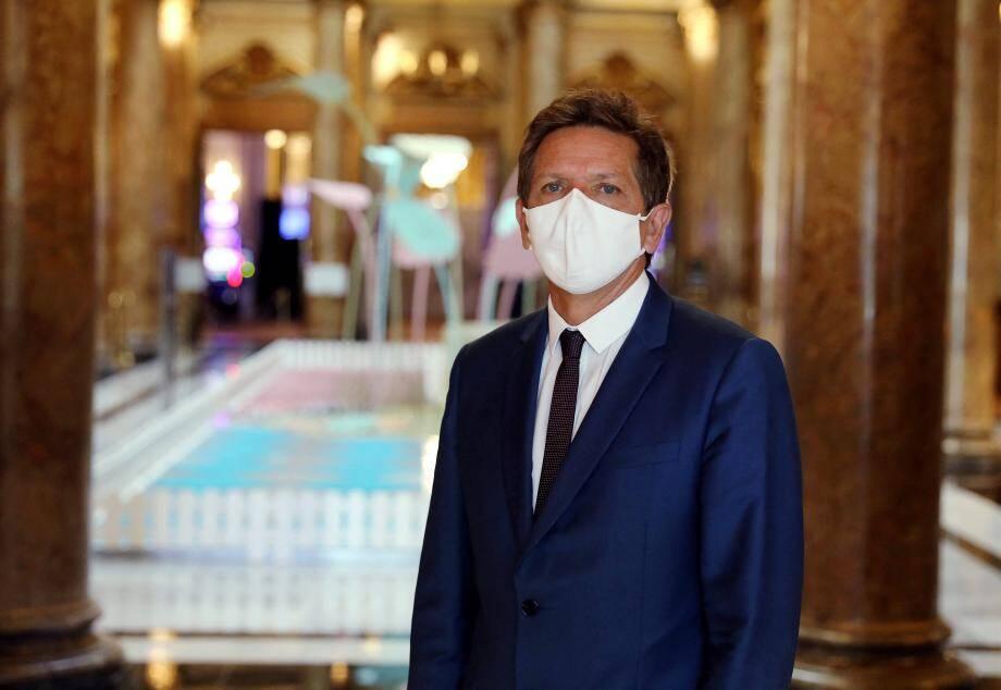 Boris Donskoff, directeur du casino de Monte-Carlo.