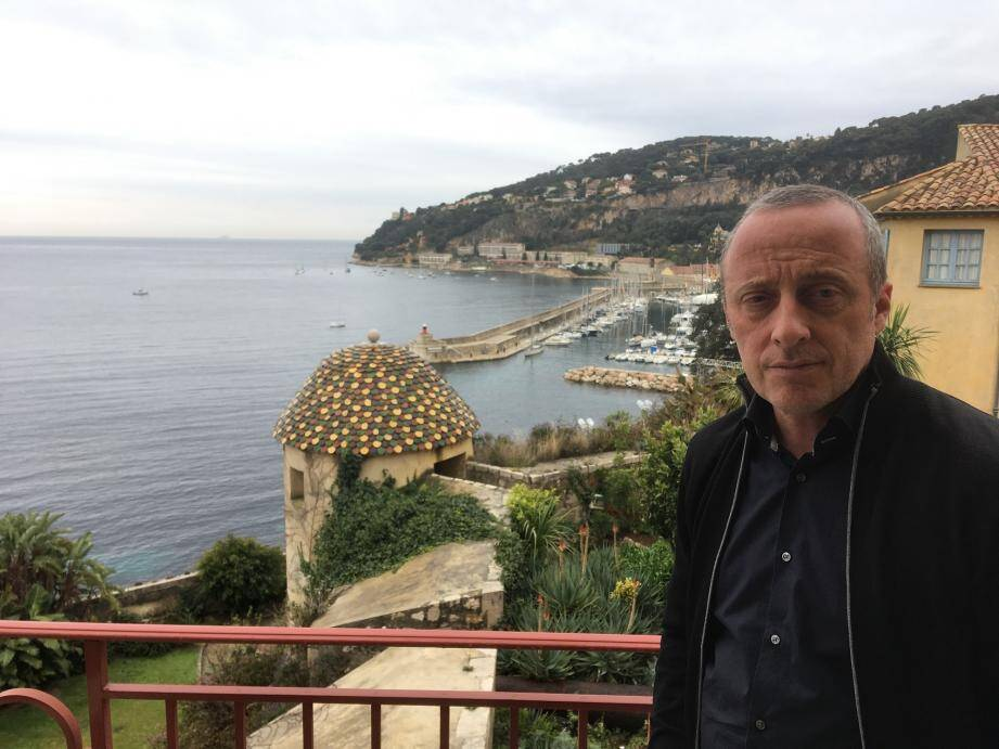 La rade est au cœur des projets villefranchois de Christophe Trojani.