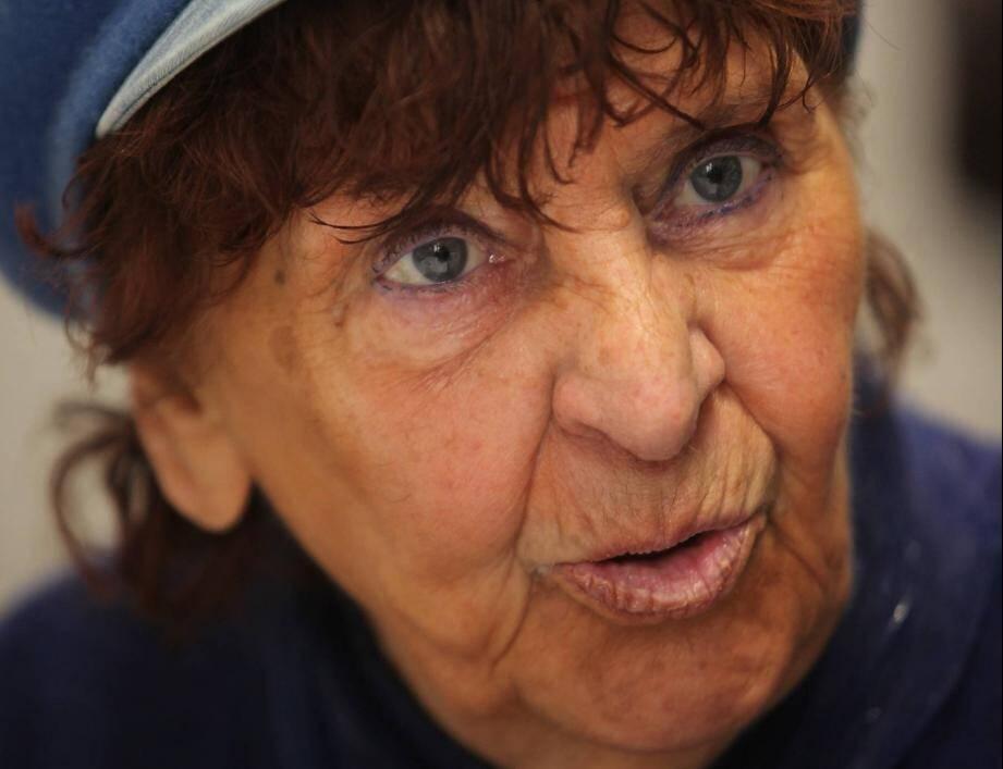 "Andrée Fillol alias ""Tante Magali""."