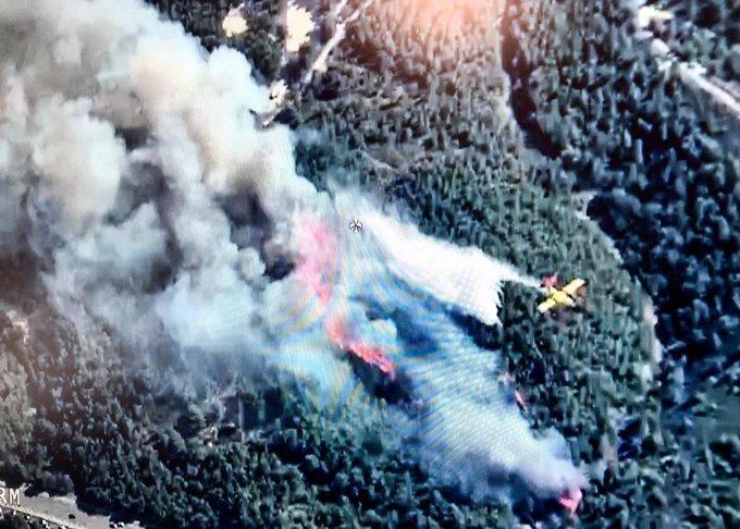 Plusieurs incendies faisaient rage mardi soir près de Marseille, dont un, attisé par des vents violents, a ravagé près de 300 hectares de végétation dans une zone côtière de Martigues, a-t-on appris auprès des autorités.