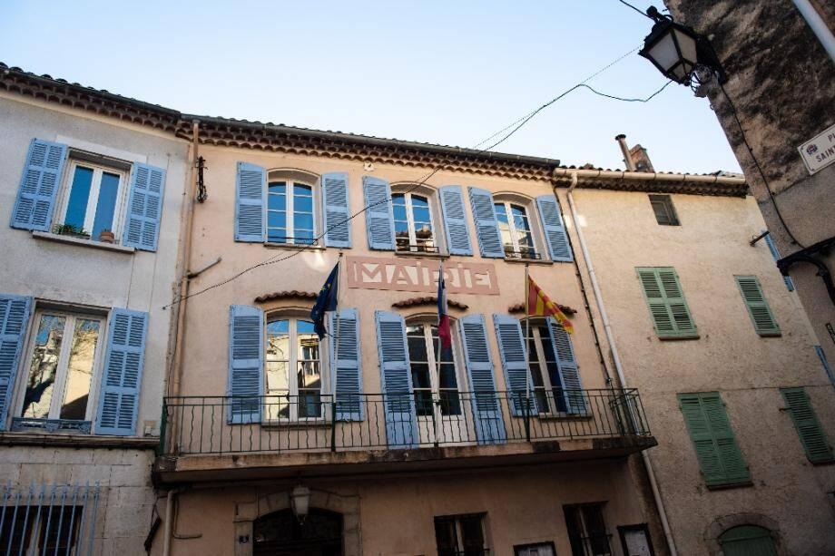 La mairie de Signes (Var) le 5 février 2020