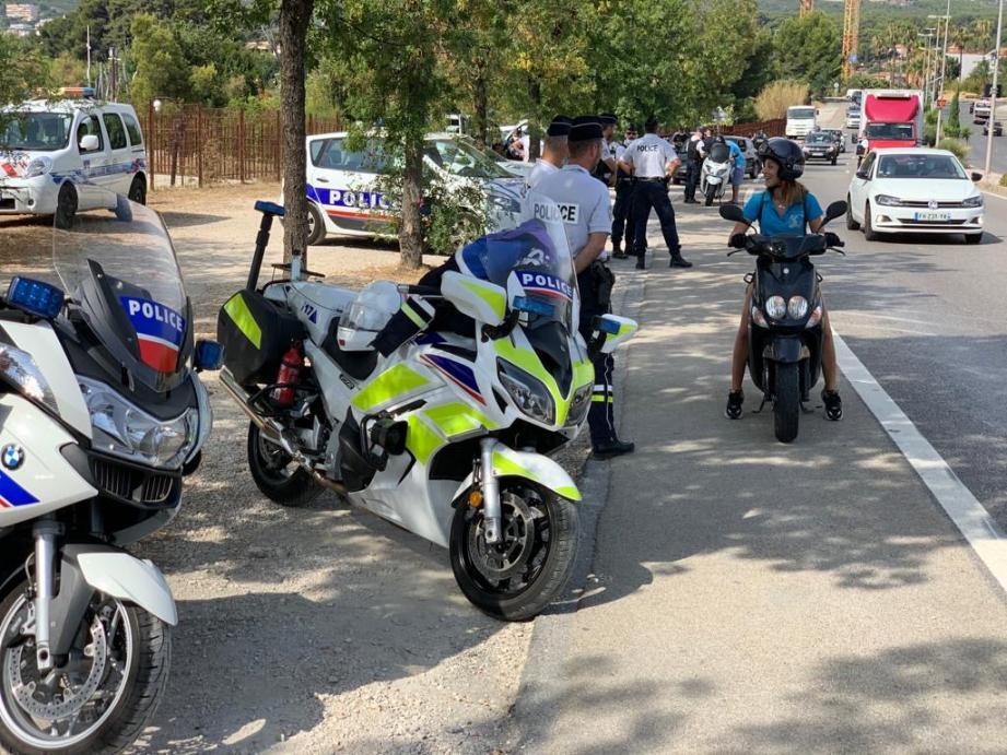Vaste opération pour lutter contre l'insécurité sur les routes à La Ciotat