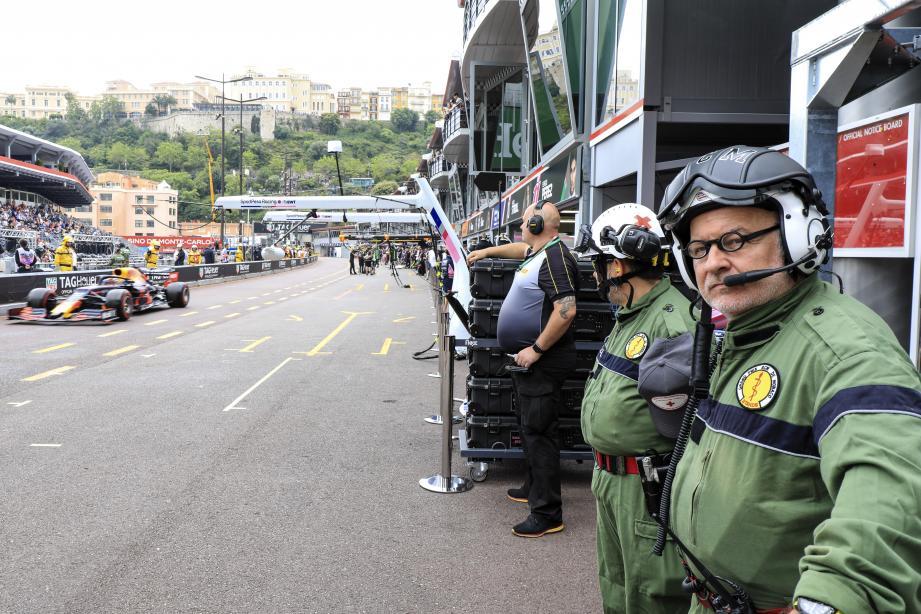 Entre autres activités, Hervé Farines est médecin réanimateur au Grand Prix de Monaco depuis 1990.