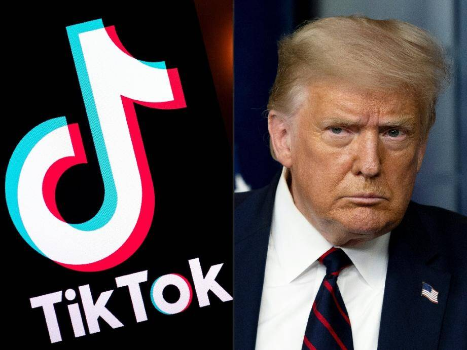 L'administration de Donald Trump interdit le téléchargement de l'application Tik Tok aux Etats-Unis.
