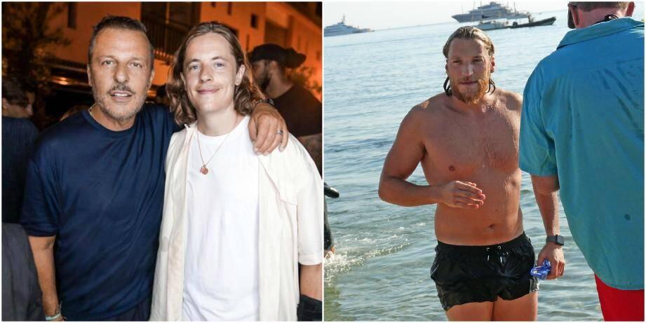 Deux Des Fils De Nicolas Sarkozy Prennent Leurs Aises Dans La Presqu Ile De Saint Tropez Var Matin