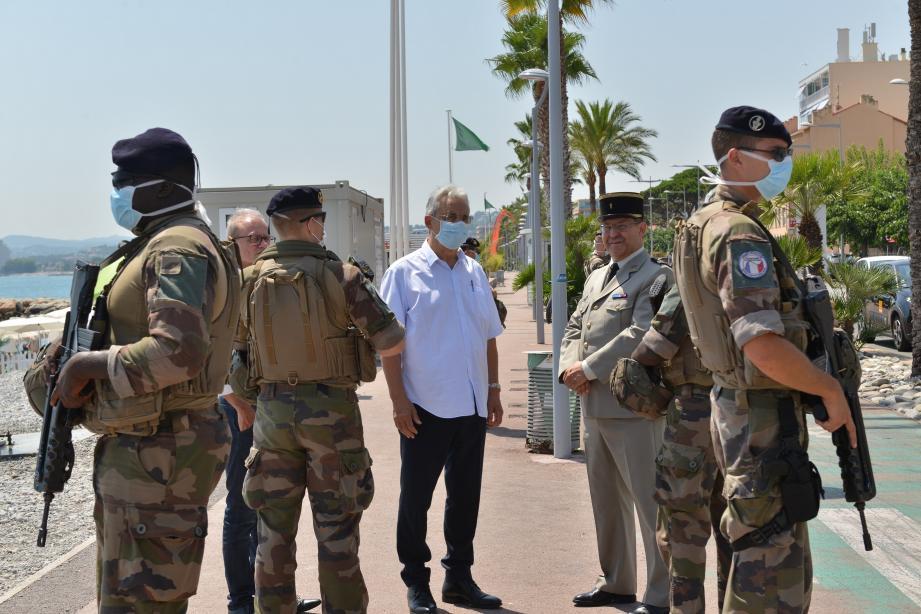 Les militaires sont opérationnels sur tout le littoral durant cette période estivale.