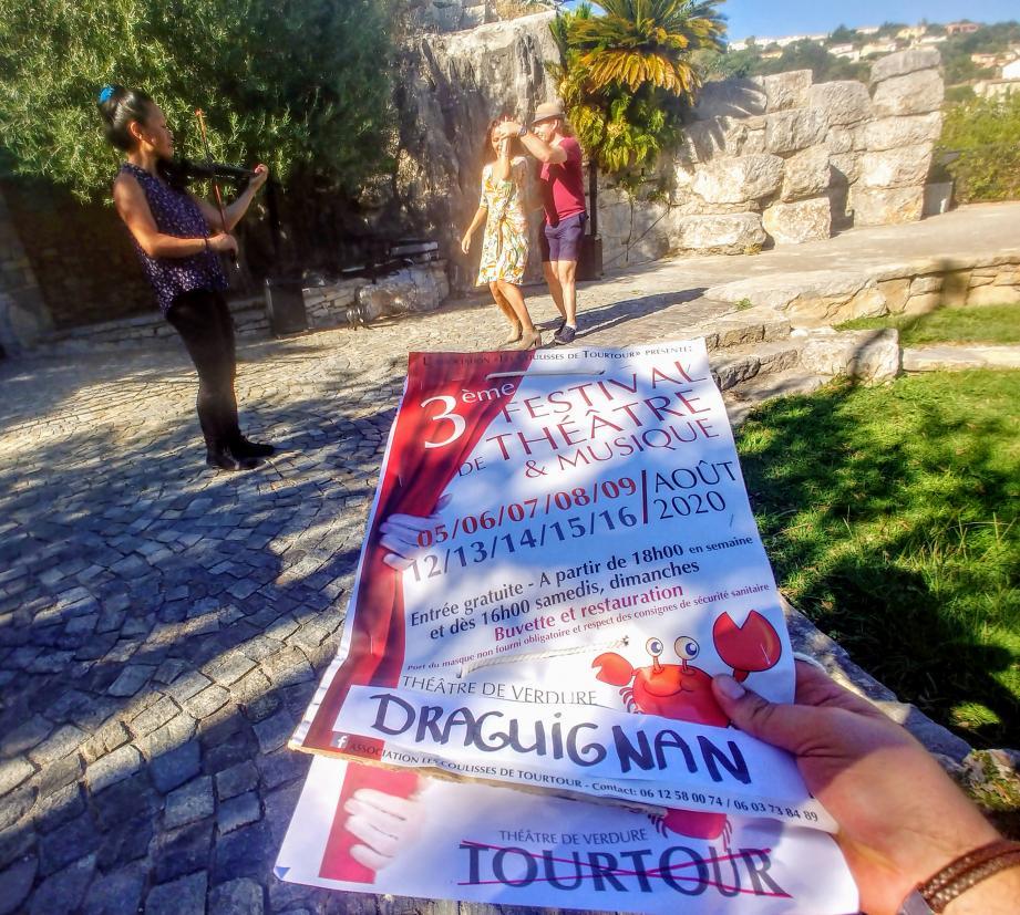 Le festival déménage à Draguignan jusqu'au 9 août, puis du 12 au 16 août.