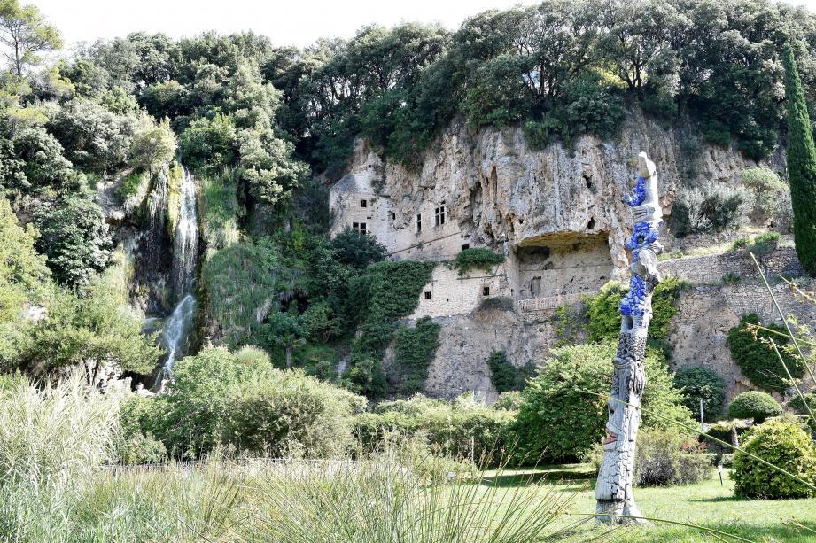 Les célèbres Grottes de Villecroze.
