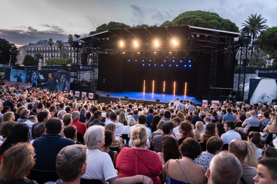 Habitué à accueillir 1.800 spectateurs pour le festival, le théâtre de verdure n'en recevra au maximum que 600 cette année.
