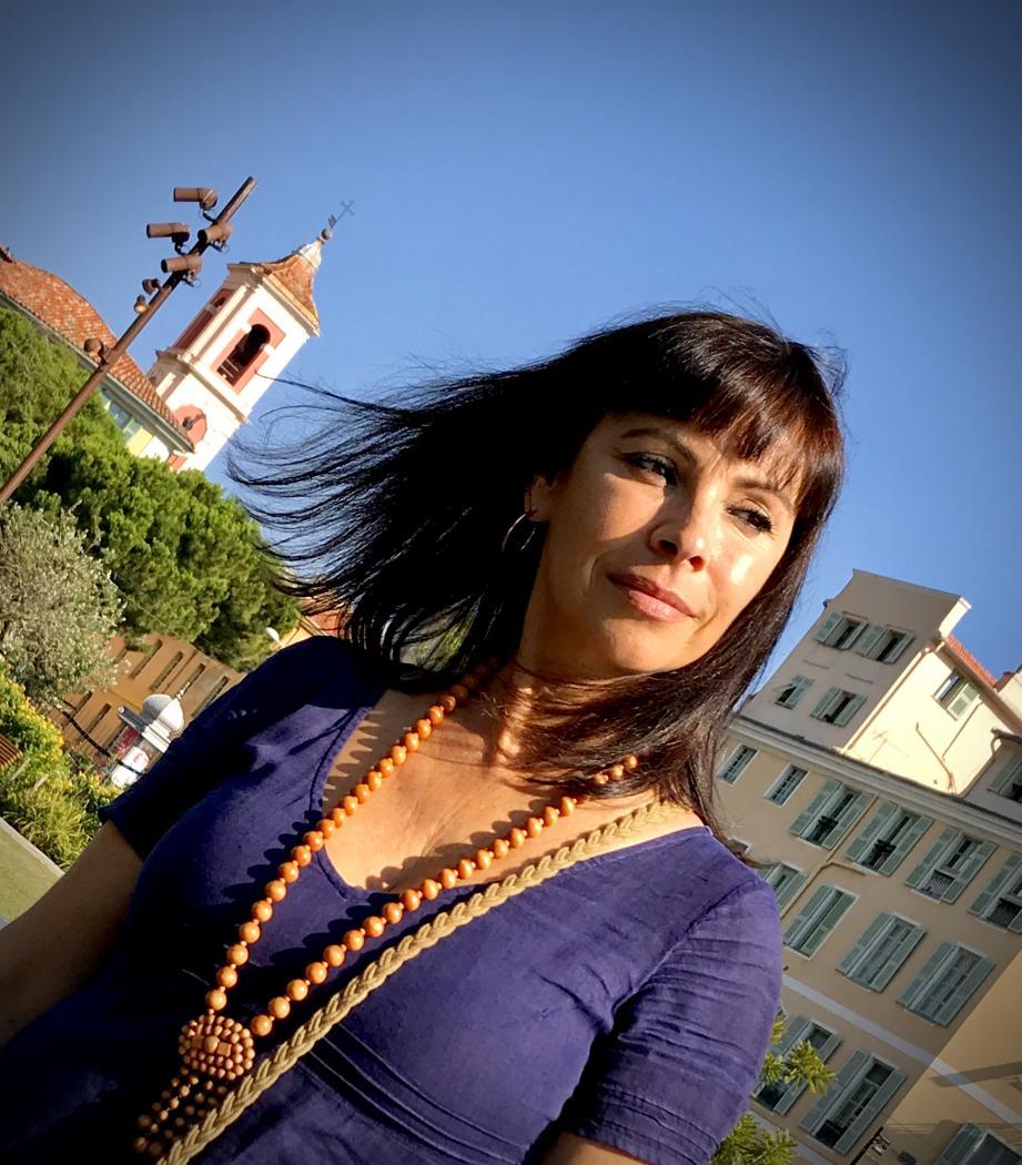 Mathilda May a savouré son passage à Nice, sur la coulée verte notamment, qui lui a rappelé son séjour de trois mois place Garibaldi, lorsqu'elle a joué au TNN