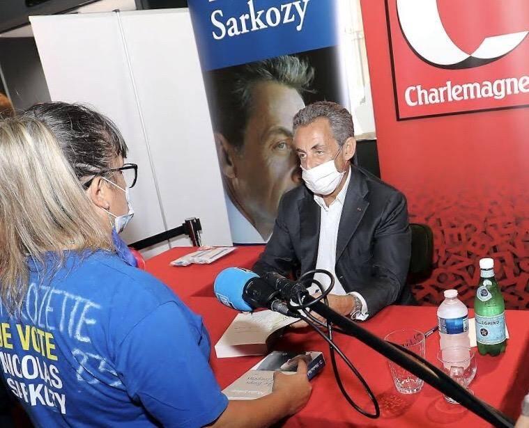 Nicolas Sarkozy En Dedicace Ce Lundi Matin A Cannes Nice Matin