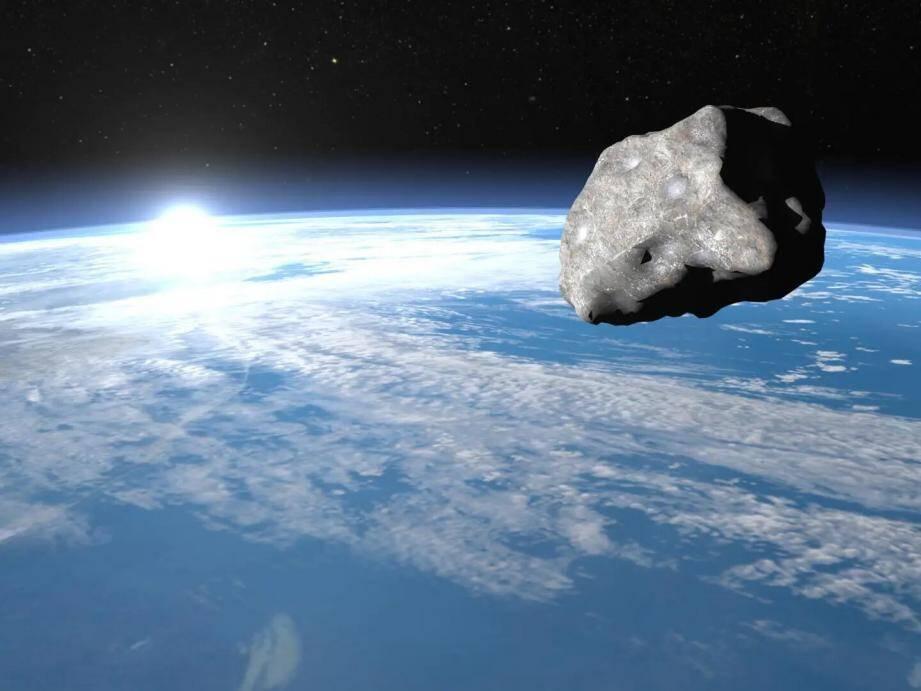 Un petit astéroïde a