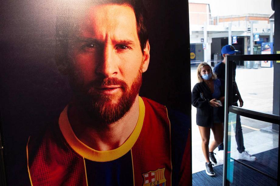 Messi en plein bras-de-fer avec le FC Barcelone.
