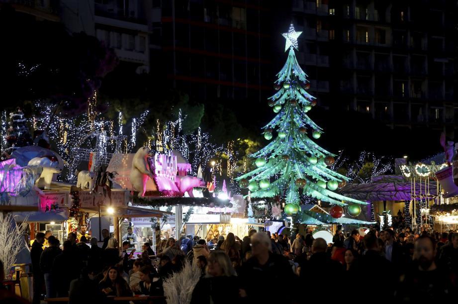 Le marché de Noël de Monaco