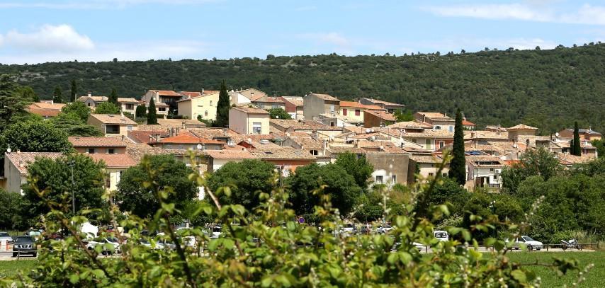 Le village de Sainte-Anastasie.