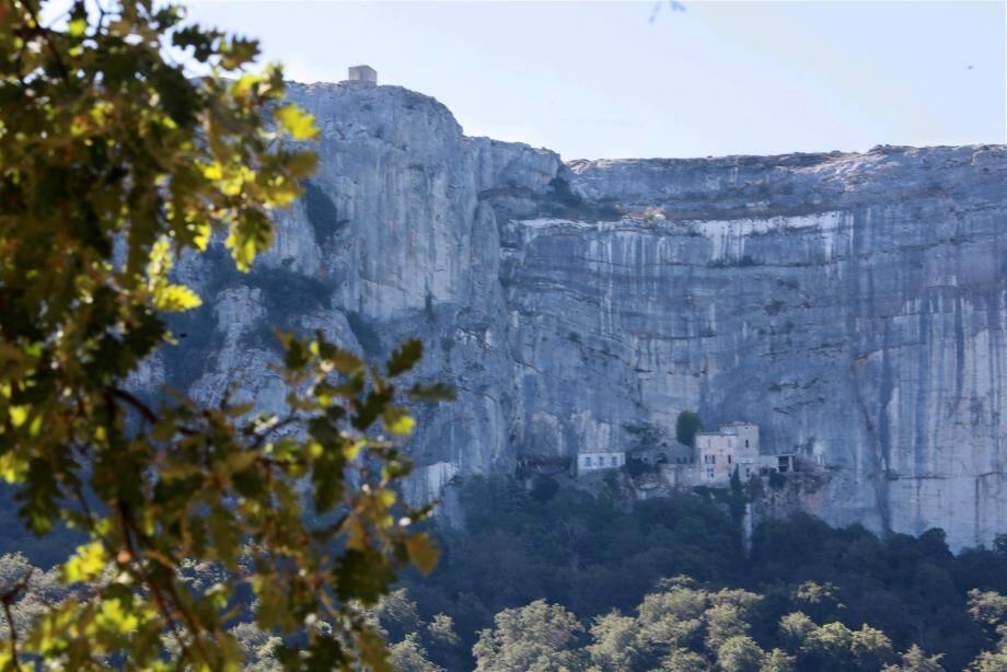 Dans le massif de la Sainte-Baume.