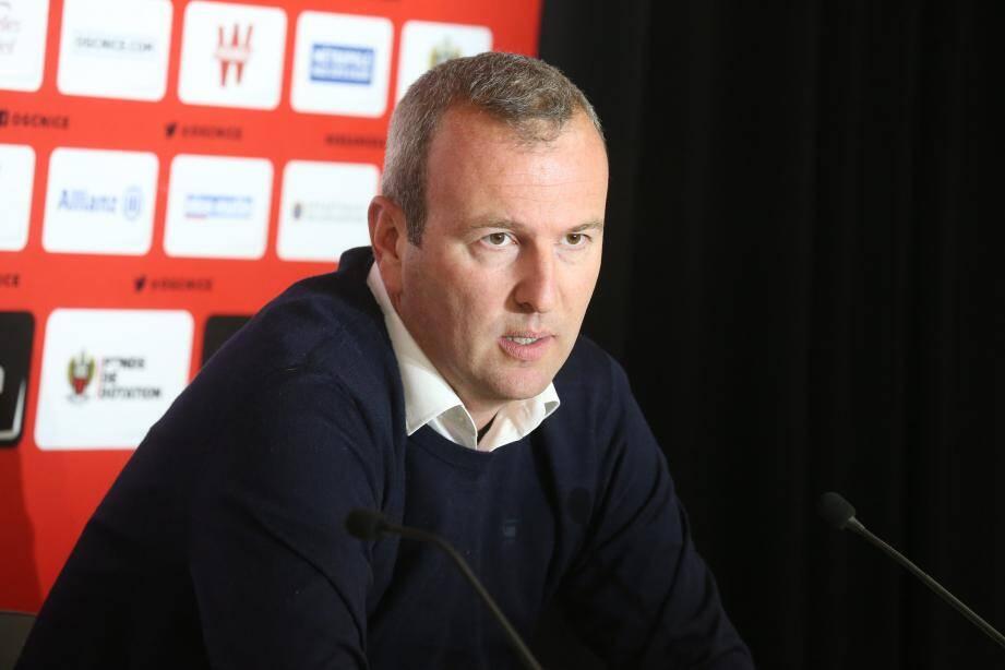 Le directeur du football INEOS de l'OGC Nice Julien Fournier.