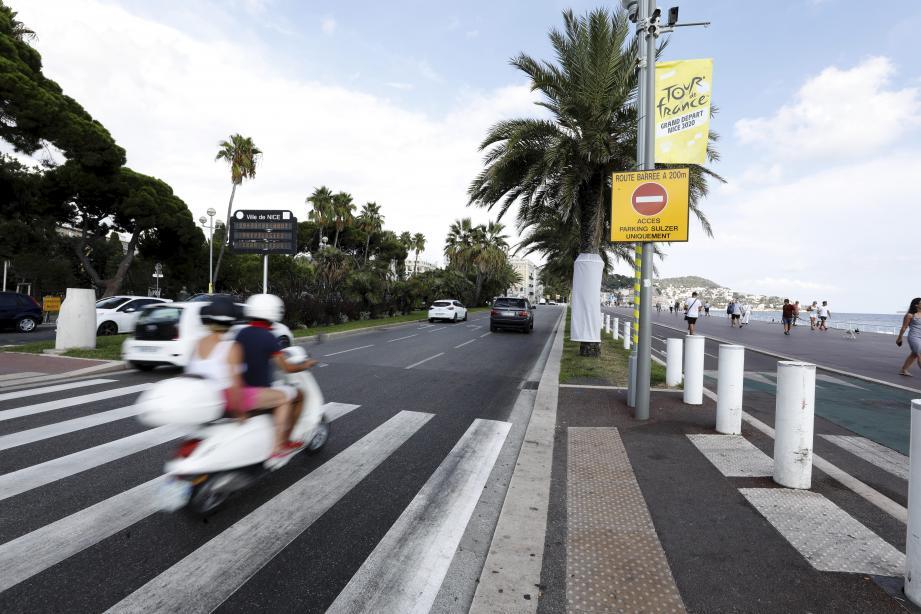 Pendant les trois jours de ce long week-end cycliste, l'hypercentre et la Prom' seront fermés à la circulation.