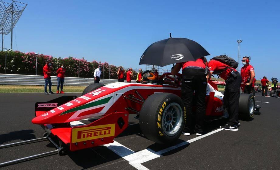 Arthur Leclerc: déjà trois pole positions et une victoire au compteur.