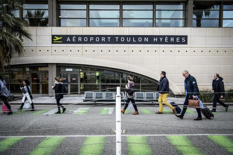 L'aéroport Toulon Hyères.