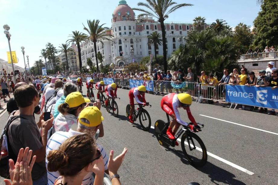 Le Tour de France partira de Nice.