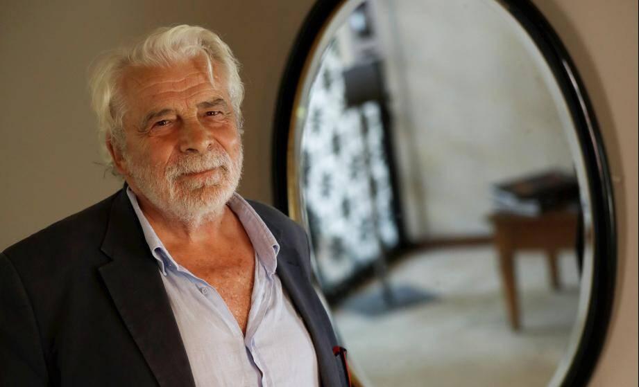 Jacques Weber à Ramatuelle.