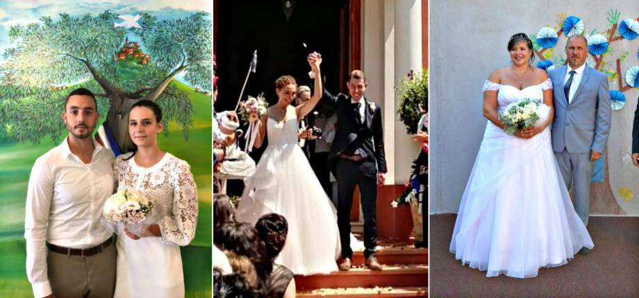 Trois couples se sont unis ce week-end sur la Côte d'Azur