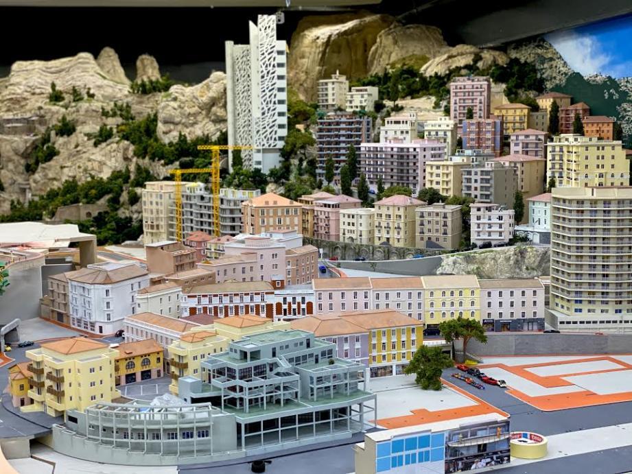 """Ce """"mini Monaco"""", qui s'étend sur 36 m2 de construction, sera notamment composé de 245 bâtiments miniatures."""