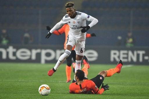 Florentino Luis, ici contre le Shakhtar Donetsk en Europa League.
