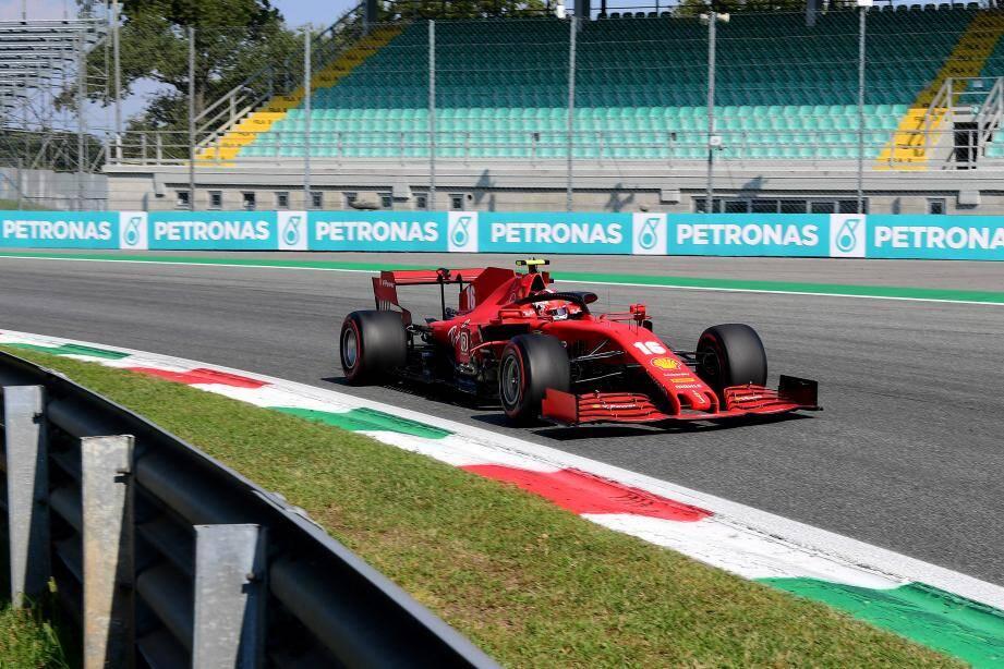 Grand Prix d'Italie de F1 : la réaction de Leclerc après son crash