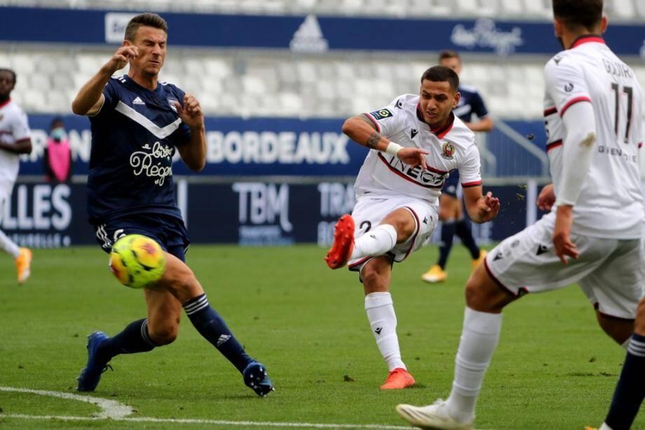 Rony Lopes et l'OGC Nice ont dominé sans gagner à Bordeaux.