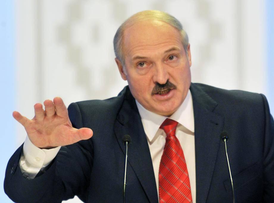 Washington ne reconnaît pas Loukachenko comme président