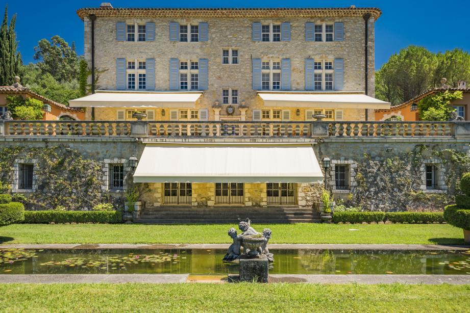 Le château des Valettes, au Bar-sur-Loup.