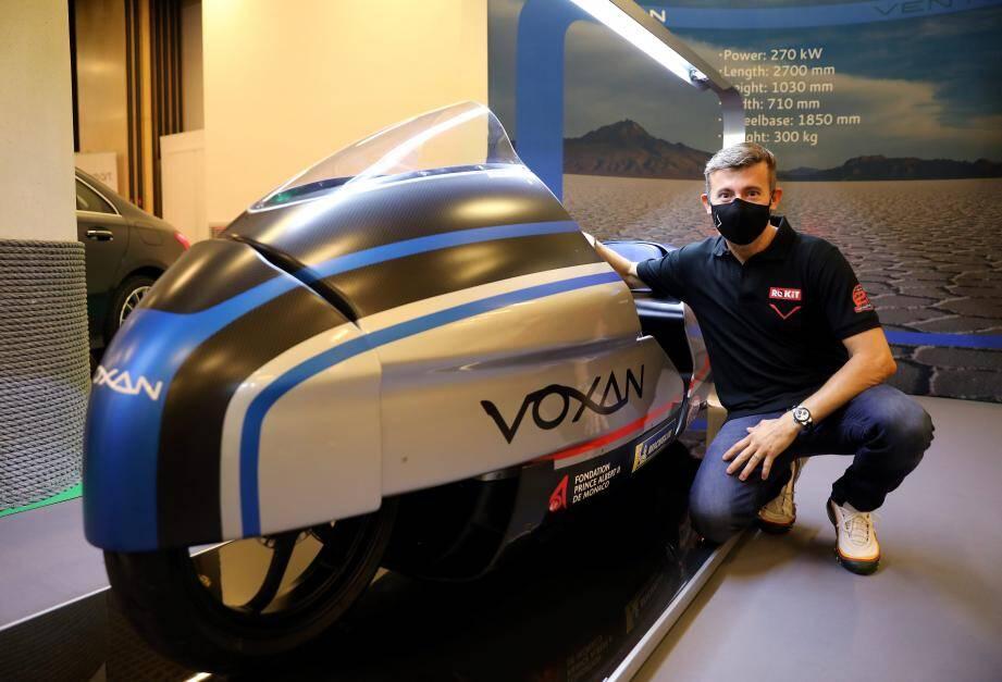 Max Biaggi tentera de battre le record de vitesse sur une moto électrique en 2021.