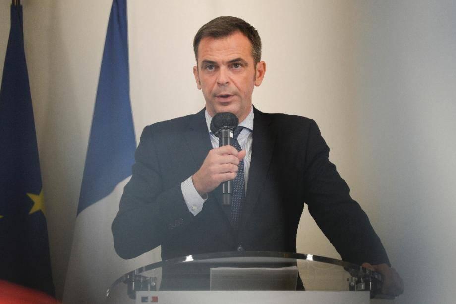 Le ministre de la Santé Olivier Véran, le 17 septembre 2020 à Paris