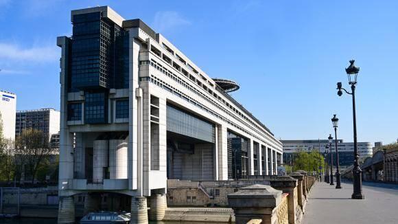 Le ministère de l'Economie et des Finances à Bercy .
