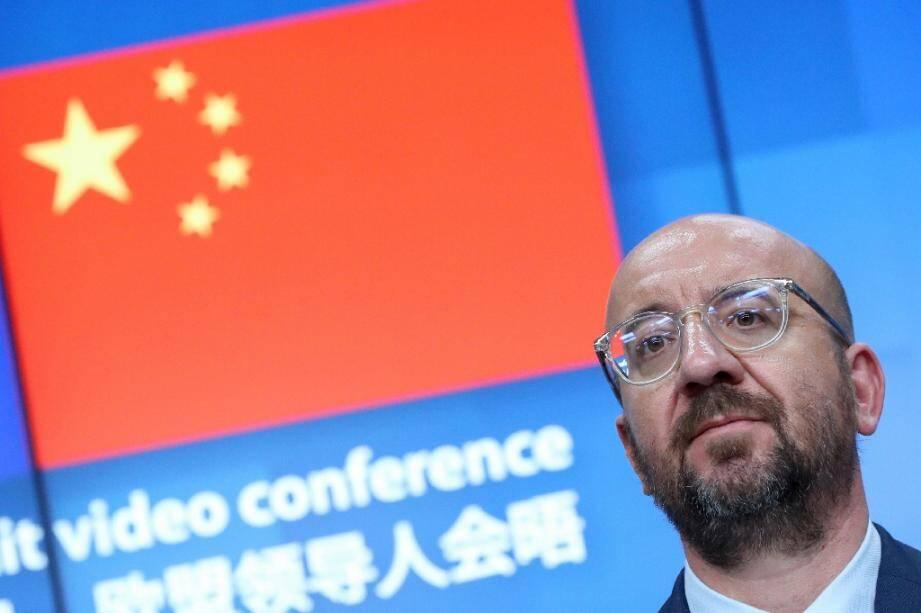 Le président du conseil Charles Michel à Bruxelles le 22 juin 2020