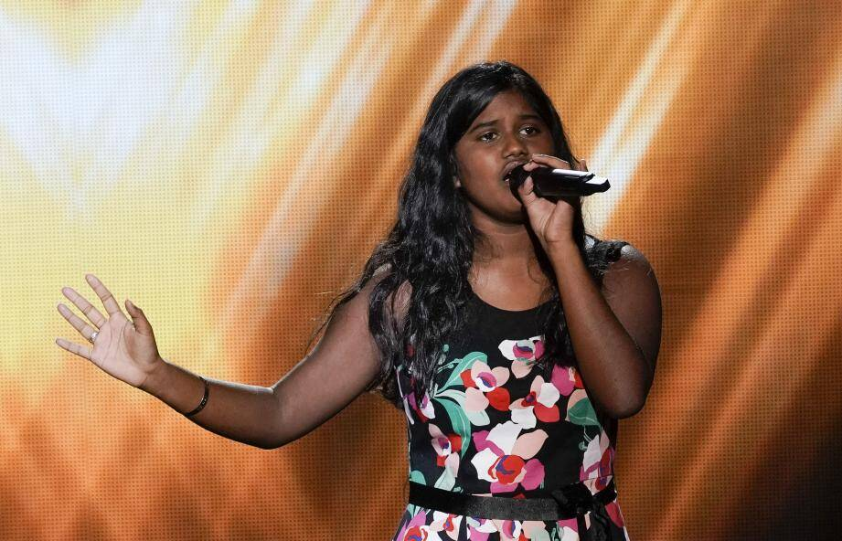 Flora Nethmi chantera samedi 5 septembre dans « The Voice Kids » sur TF1 à partir de 21 h 05.