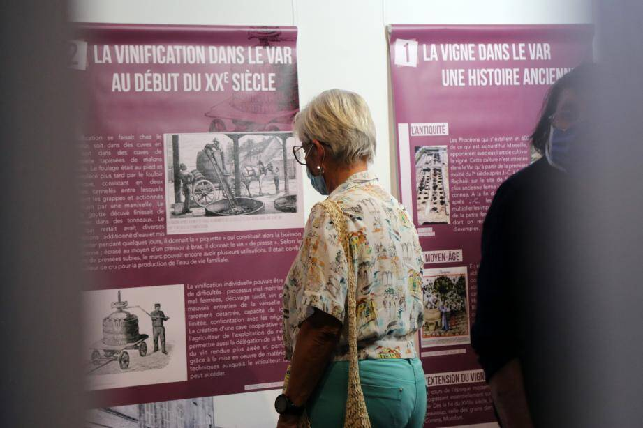 Après cette exposition, les visiteurs seront incollables sur l'histoire du vin et des caves coopératives dans le Var.