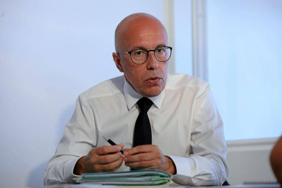 """Éric Ciotti: """"Nous devrons être mieux armés demain pour faire face à une crise similaire."""""""