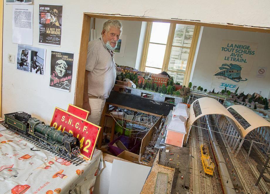 """Pierre Dordor dans """"ses meubles"""", a promis une rénovation du musée grâce """"à des sponsors privés"""" et à hauteur de 25 000 euros."""