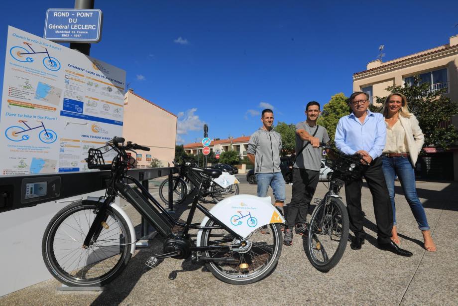 L'année dernière, la ville inaugurait la quatrième borne de vélos électriques située dans le centre-ville. Fort de son succès, la municipalité a fait le choix de continuer à développer cette politique écologique.