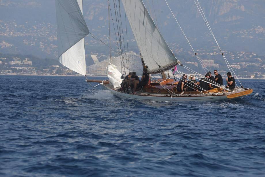 Les voiliers libérés pour ce troisième jour de compétition.