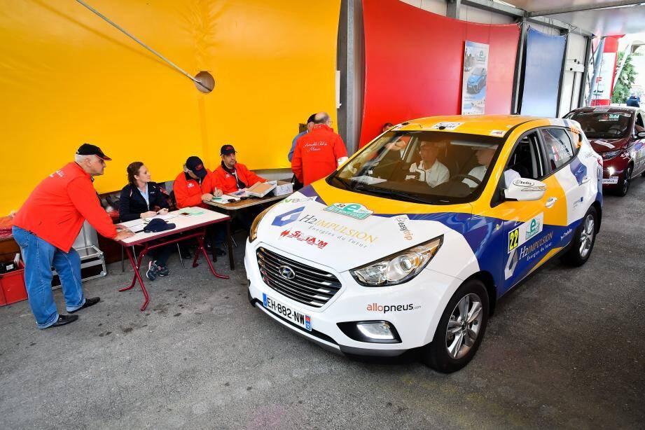 Un e-Rallye new look pour cette édition 2020 (ici, l'arrivée à Monaco lors de la dernière édition).