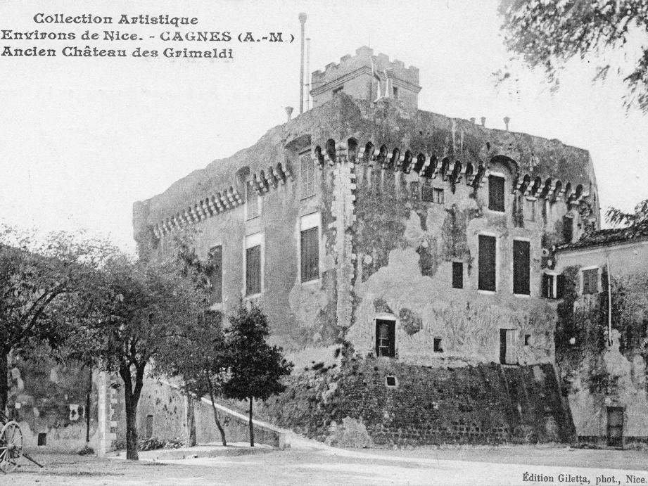 L'ancien aspect du donjon du château.
