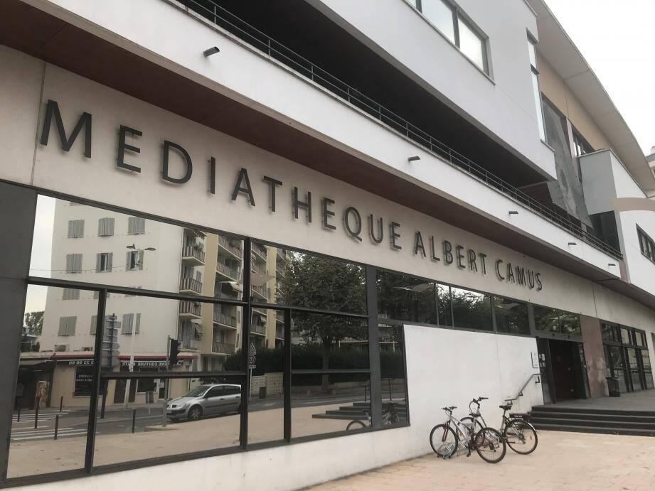 La médiathèque Albert Camus fait son classement.