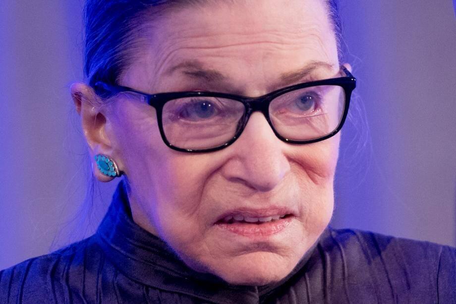 Ruth Bader Ginsburg le 21 mai 2018 à Washington