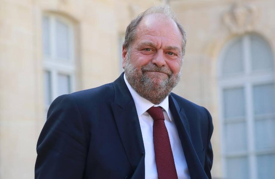 Le ministre de la Justice Eric Dupond-Moretti, le 26 août 2020, à Paris