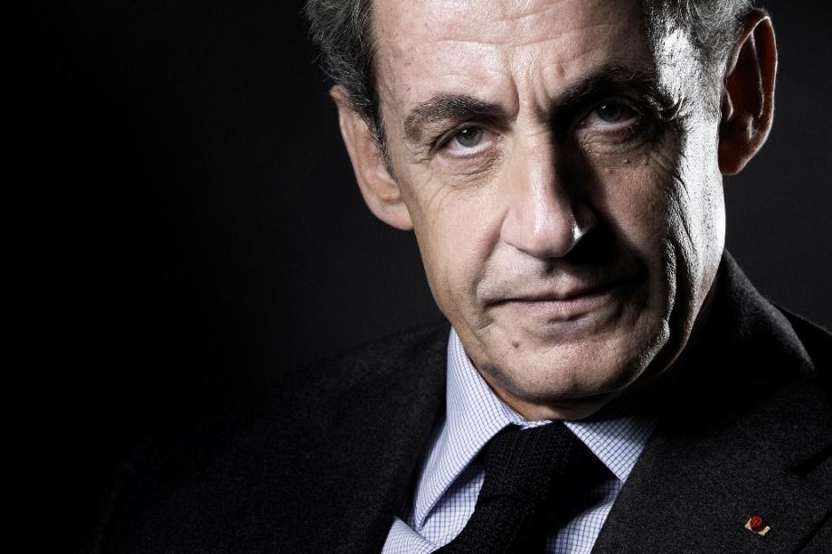 Portrait de Nicolas Satkozy le 18 octobre 2016, à Paris