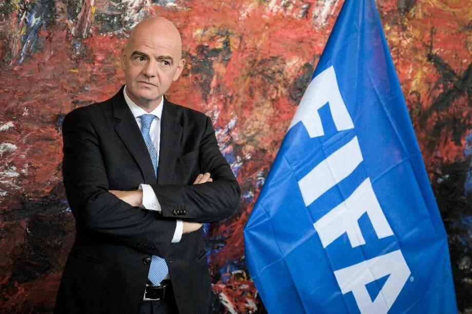 Le président de la Fifa, le 4 octobre 2019 à Genève